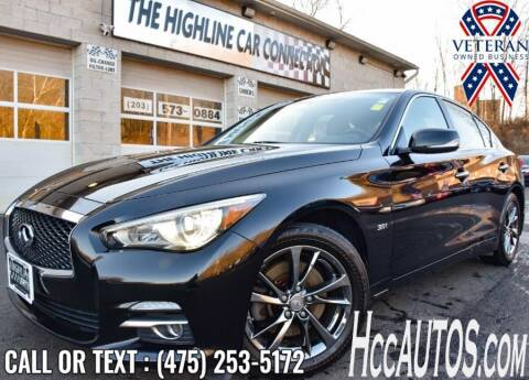 2017 Infiniti Q50 for sale at The Highline Car Connection in Waterbury CT