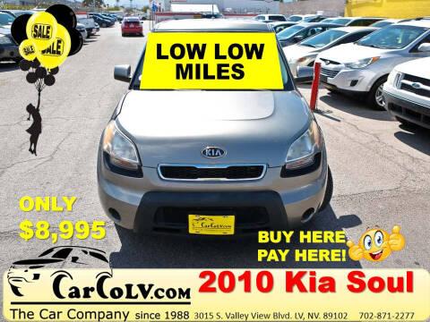2010 Kia Soul for sale at The Car Company in Las Vegas NV