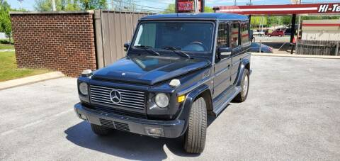 2003 Mercedes-Benz G-Class for sale at Z Motors in Chattanooga TN