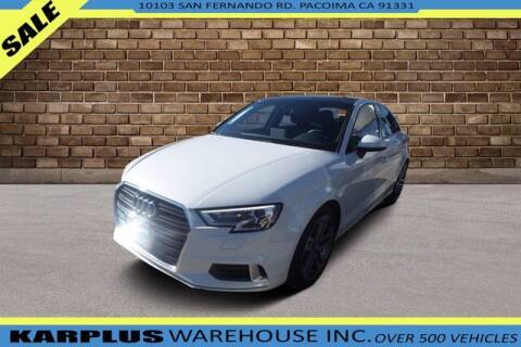 2018 Audi A3 for sale at Karplus Warehouse in Pacoima CA