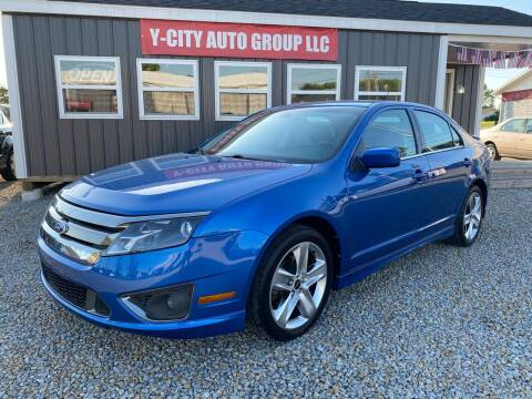 2011 Ford Fusion for sale at Y City Auto Group in Zanesville OH