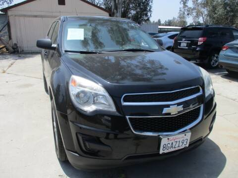 2013 Chevrolet Equinox for sale at F & A Car Sales Inc in Ontario CA