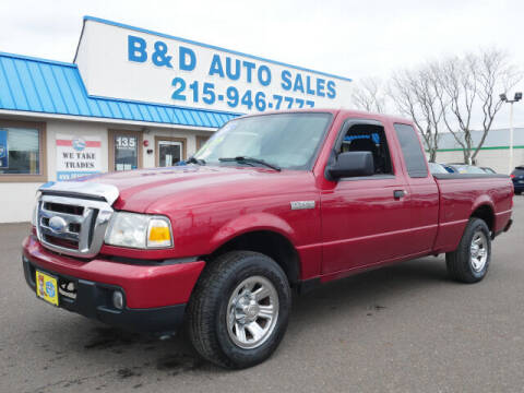 2006 Ford Ranger for sale at B & D Auto Sales Inc. in Fairless Hills PA
