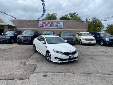 2013 Kia Optima Hybrid for sale at Brothers Auto Group in Youngstown OH