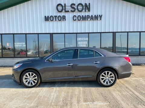 2013 Chevrolet Malibu for sale at Olson Motor Company in Morris MN