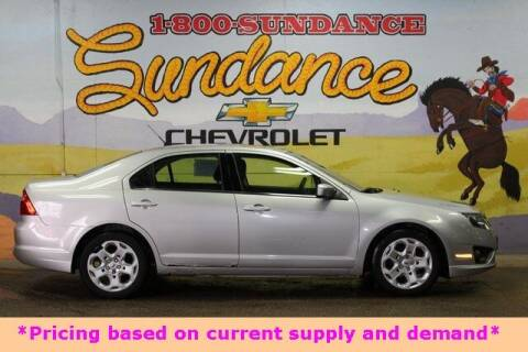 2010 Ford Fusion for sale at Sundance Chevrolet in Grand Ledge MI