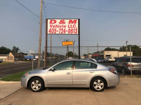 2008 Nissan Altima for sale at D & M Vehicle LLC in Oklahoma City OK