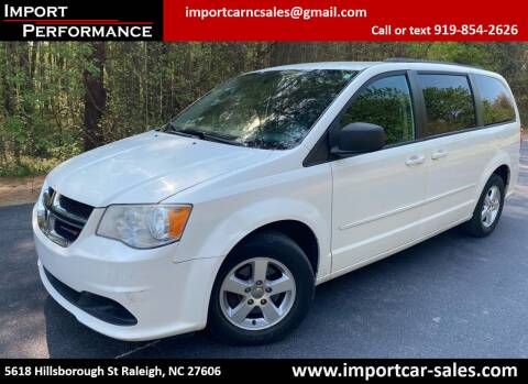 2013 Dodge Grand Caravan for sale at Import Performance Sales in Raleigh NC