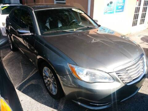 2012 Chrysler 200 for sale at Gold Motors Auto Group Inc in Tampa FL