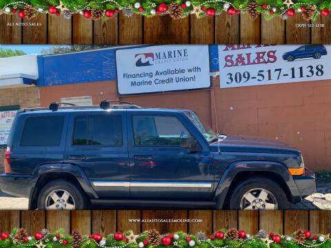 2010 Jeep Commander for sale at Ali Auto Sales in Moline IL