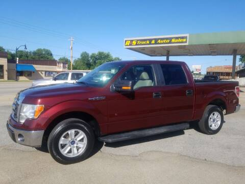 2010 Ford F-150 for sale at R & S TRUCK & AUTO SALES in Vinita OK