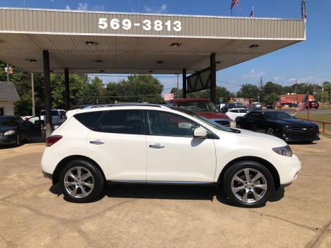 2014 Nissan Murano for sale at BOB SMITH AUTO SALES in Mineola TX