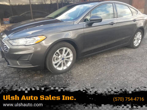 2019 Ford Fusion for sale at Ulsh Auto Sales Inc. in Summit Station PA