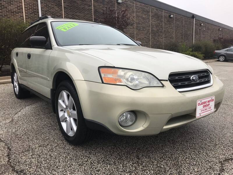 2007 Subaru Outback for sale at Classic Motor Group in Cleveland OH