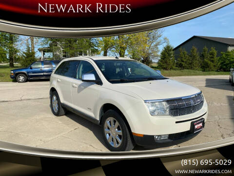 2007 Lincoln MKX for sale at Newark Rides in Newark IL