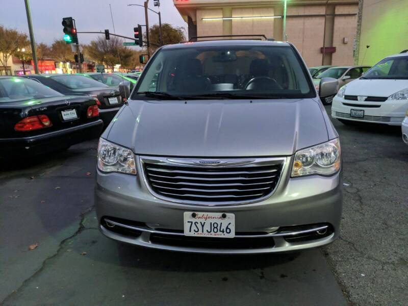 2014 Chrysler Town and Country for sale at Auto City in Redwood City CA