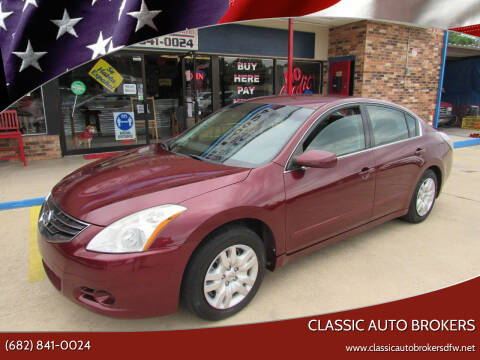 2011 Nissan Altima for sale at Classic Auto Brokers in Haltom City TX