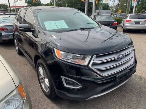2017 Ford Edge for sale at Park Avenue Auto Lot Inc in Linden NJ
