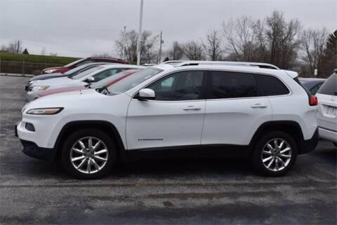 2015 Jeep Cherokee for sale at BOB ROHRMAN FORT WAYNE TOYOTA in Fort Wayne IN