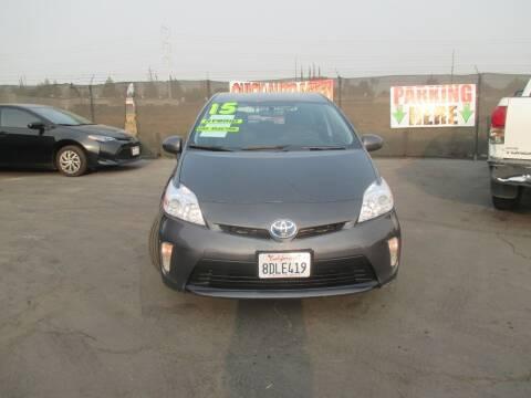 2015 Toyota Prius for sale at Quick Auto Sales in Modesto CA