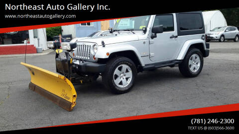 2012 Jeep Wrangler for sale at Northeast Auto Gallery Inc. in Wakefield MA