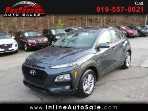 2019 Hyundai Kona for sale at Inline Auto Sales in Fuquay Varina NC