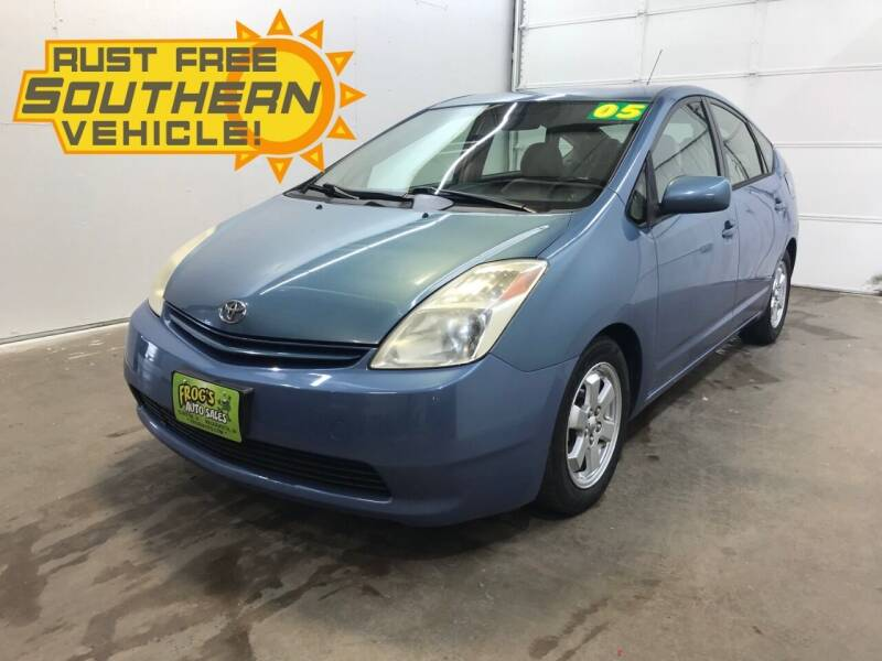 2005 Toyota Prius for sale at Frogs Auto Sales in Clinton IA