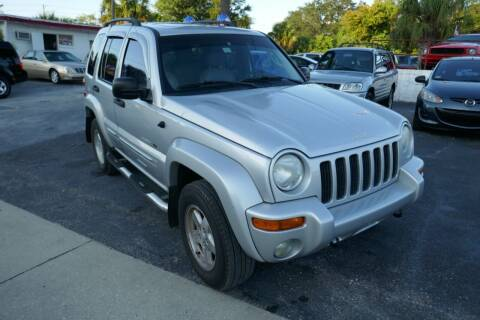 2002 Jeep Liberty for sale at J Linn Motors in Clearwater FL