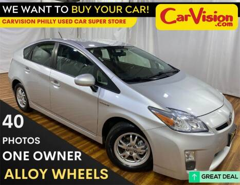 2010 Toyota Prius for sale at Car Vision Mitsubishi Norristown - Car Vision Philly Used Car SuperStore in Philadelphia PA