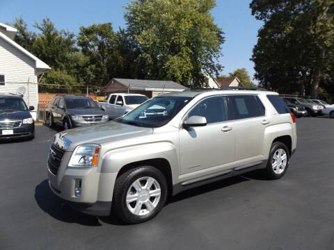 2014 GMC Terrain for sale at Goodman Auto Sales in Lima OH