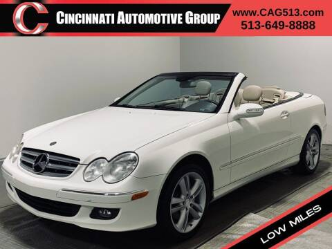 2008 Mercedes-Benz CLK for sale at Cincinnati Automotive Group in Lebanon OH