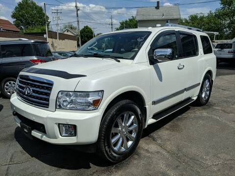 2010 Infiniti QX56 for sale at Richland Motors in Cleveland OH