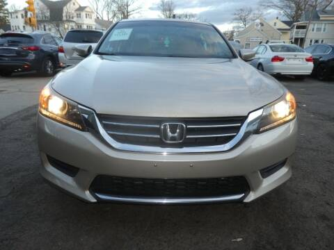 2013 Honda Accord for sale at Wheels and Deals in Springfield MA