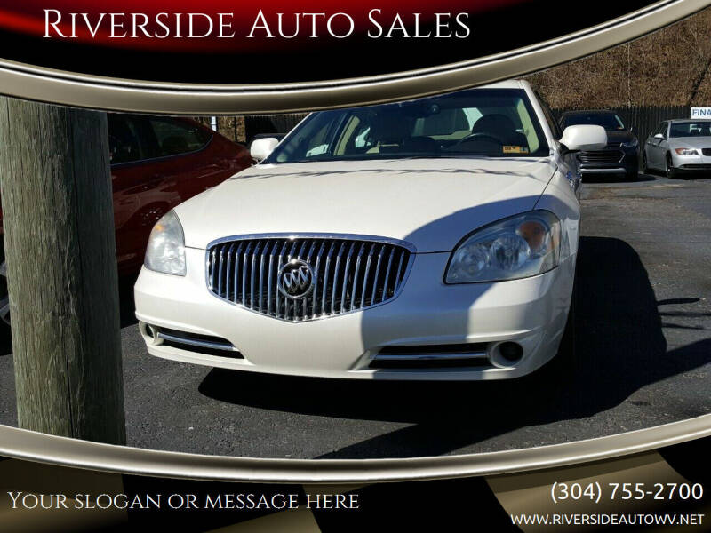 2011 Buick Lucerne for sale at Riverside Auto Sales in Saint Albans WV