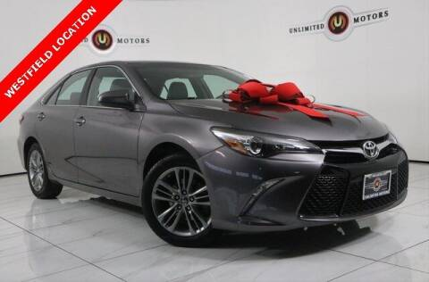 2016 Toyota Camry for sale at INDY'S UNLIMITED MOTORS - UNLIMITED MOTORS in Westfield IN