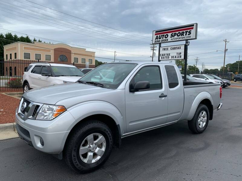 2012 Nissan Frontier for sale at Auto Sports in Hickory NC
