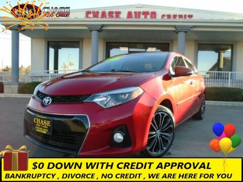 2016 Toyota Corolla for sale at Chase Auto Credit in Oklahoma City OK