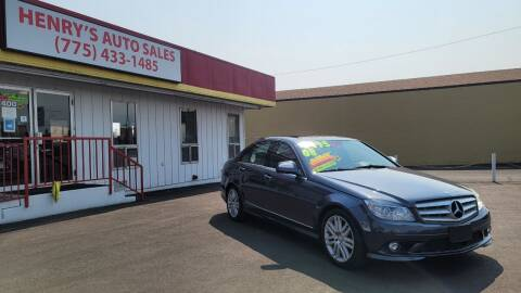 2008 Mercedes-Benz C-Class for sale at Henry's Autosales, LLC in Reno NV