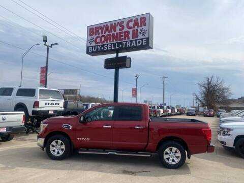 2017 Nissan Titan for sale at Bryans Car Corner in Chickasha OK