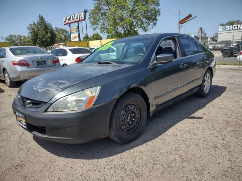 2004 Honda Accord for sale at Larry's Auto Sales Inc. in Fresno CA
