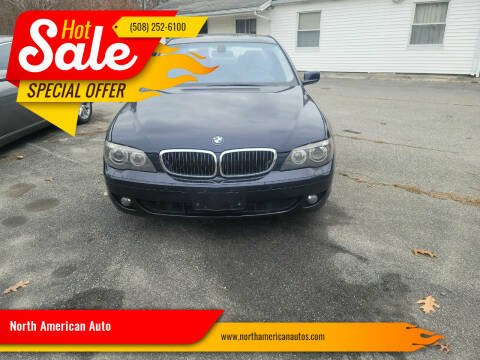 2006 BMW 7 Series for sale at North American Auto in Rehoboth MA