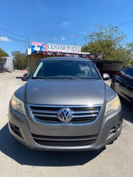 2010 Volkswagen Tiguan for sale at Centerpoint Motor Cars in San Antonio TX