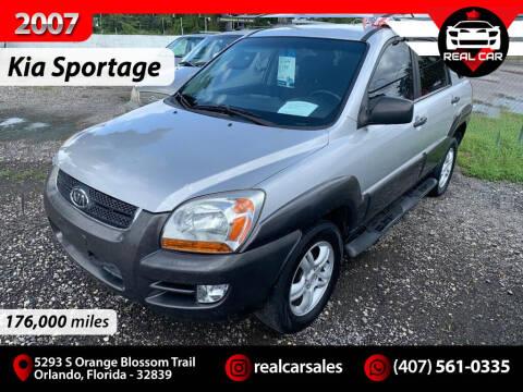 2007 Kia Sportage for sale at Real Car Sales in Orlando FL