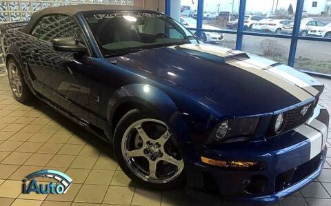 2006 Ford Mustang for sale at iAuto in Cincinnati OH