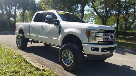 2018 Ford F-250 Super Duty for sale at DELRAY AUTO MALL in Delray Beach FL