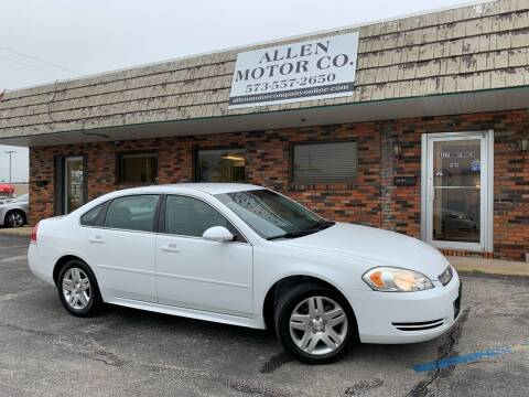 2013 Chevrolet Impala for sale at Allen Motor Company in Eldon MO