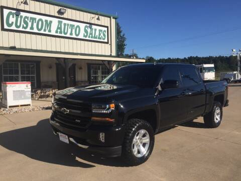 2018 Chevrolet Silverado 1500 for sale at Custom Auto Sales - AUTOS in Longview TX