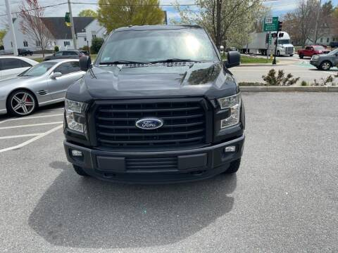 2016 Ford F-150 for sale at MCQ SALES INC in Upton MA