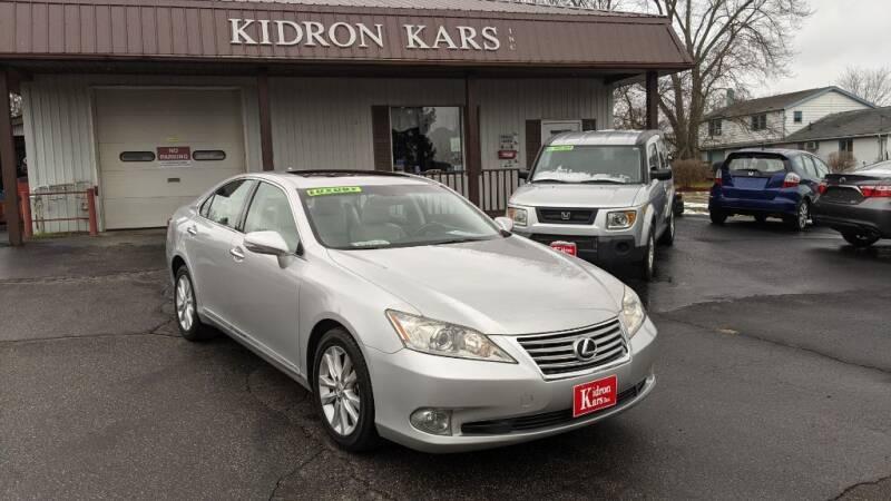 2010 Lexus ES 350 for sale at Kidron Kars INC in Orrville OH