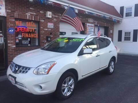 2012 Nissan Rogue for sale at 5 Corner Auto Sales Inc. in Brockton MA